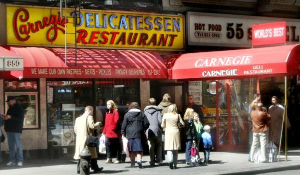 The Carnegie Delicatessen in New York City