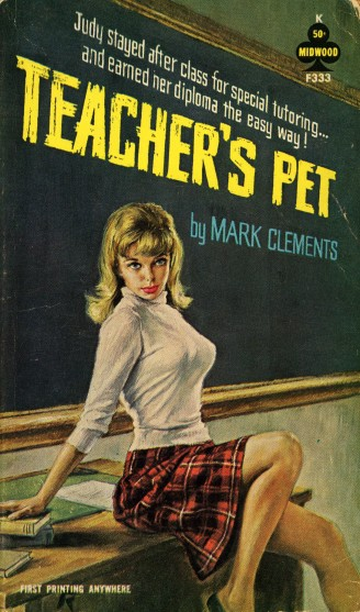 Paperback cover of Teacher's Pet by Mark Clements
