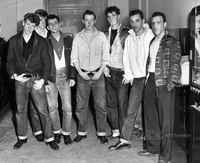 1950s juvenile delinguents