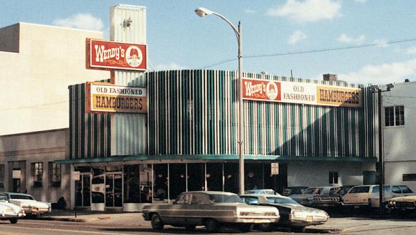 The world's first Wendy's restaurant. (Columbus, Ohio)