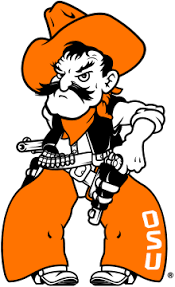 Pistol Pete the Oklahoma State University mascot
