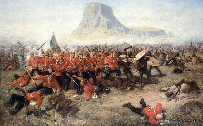 Painting of the Battle of Isandhlwana