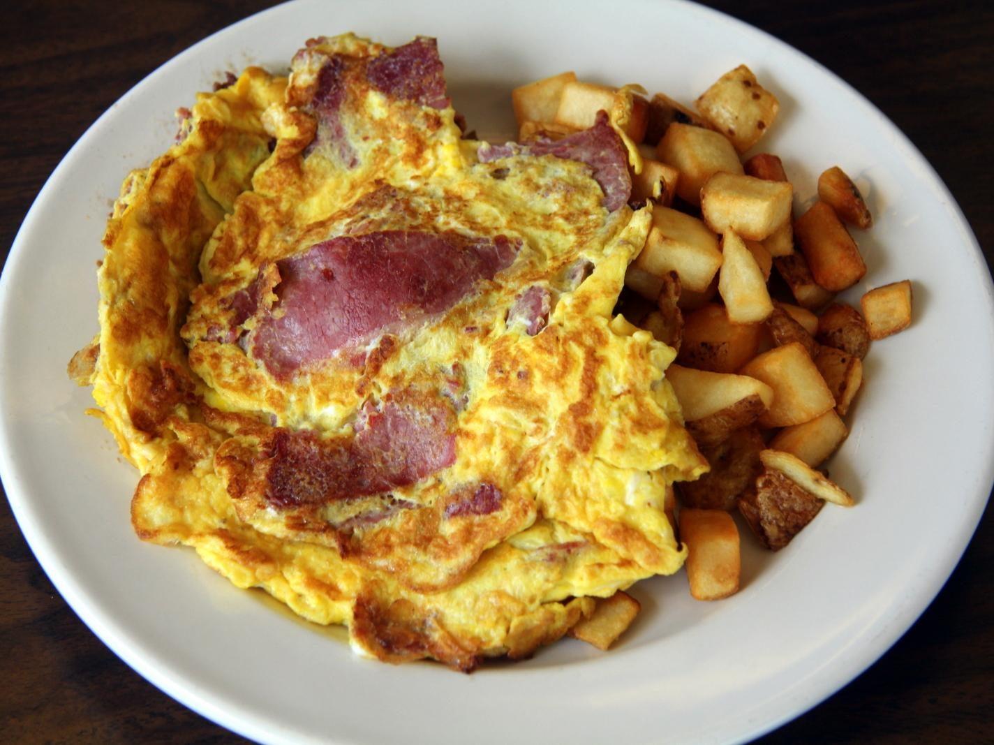 Jewish deli omelette