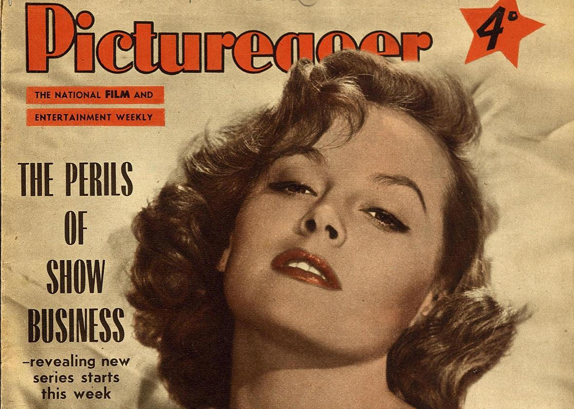 Cover of Picturegoer magazine July 14, 1956