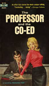 Paperback cover of The Professor and the Co-Ed