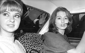 Mandy Rice Davies and Christine Keeler
