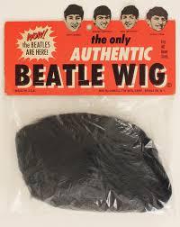 AD for a Beatles wig circa 1964