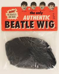 AD for a Beatles wig circa 1964