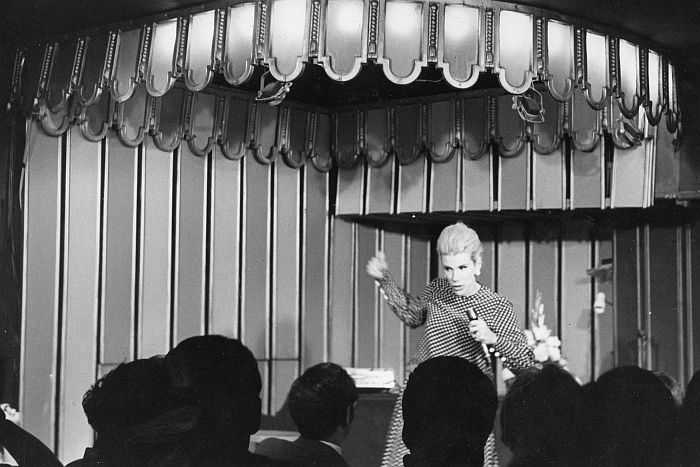 Joan Rivers preforming at Upstairs as the Downstairs in New York