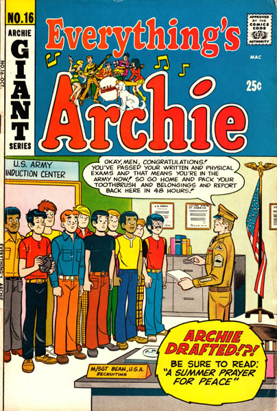Vintage Archie comic book cover