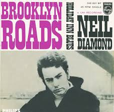 45rpm cover for Brooklyn Roads by Neil Diamond