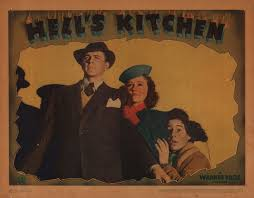 Vintage movie poster for Hell's Kitchen