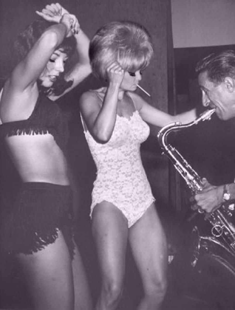 1960s go-go dancers