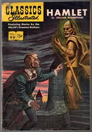 Classics Illustrated cover for Hamlet
