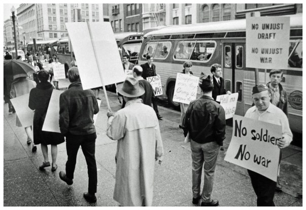 Anti-draft demonstration in 1967