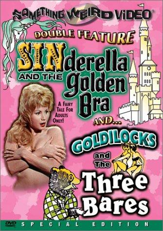 Movie poster for Sinderella and the Golden Bra and Goldilocks and the Three Bares