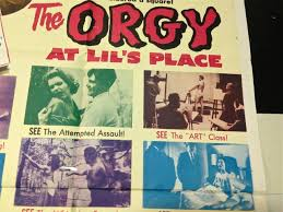 Movie poster for The Orgy at Lil's Place