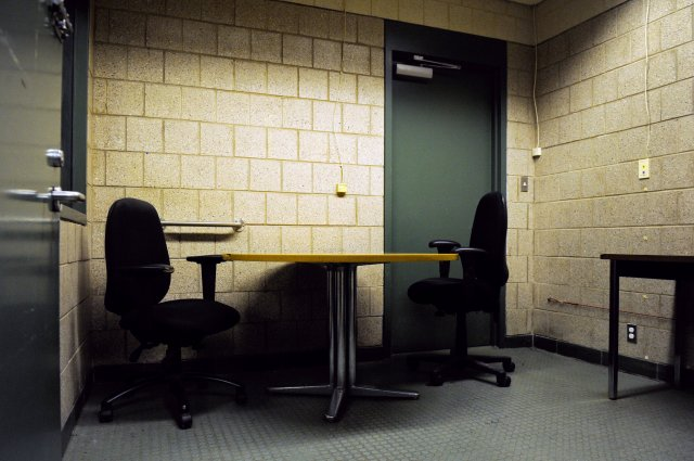NYPD interrogation room