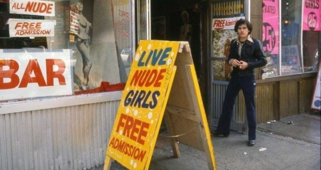 1970s Times Square porn store