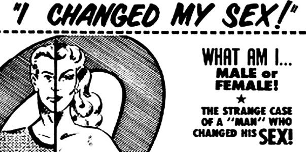 Poster for I Changed My Sex - Glen or Glenda by Ed Wood