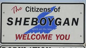 Sheboygan, Wi. welcome sign