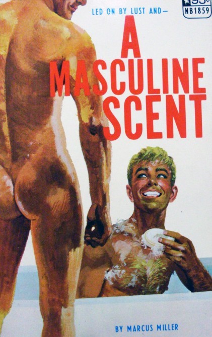 Vintage gay pulp cover - A Masculine Scent