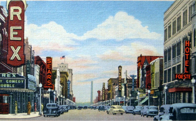 Vintage postcard of Sheboygan, Wisconsin