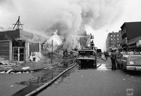 Arson in the Bronx, NYC blackout of Jul 1977