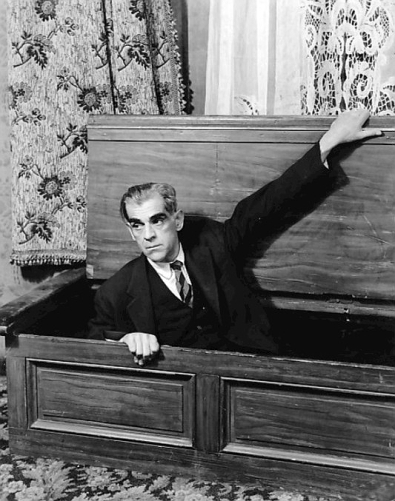 Boris Karloff in Arsenic and Old Lace