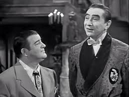 Bela Lugosi and Lou Costello in Abbott and Costello Meet Frankenstein