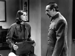 Bela Lugosi and Greta Garbo in Ninotchka