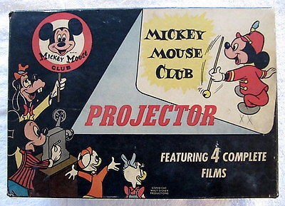 Mickey Mouse Club film projector
