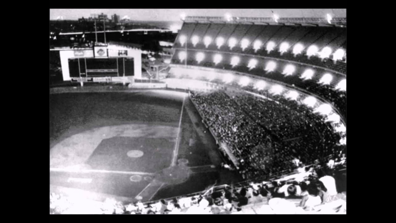 Shea Stadium in New York City blackout of July 13, 1977