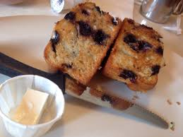 Toasted blueberry muffin