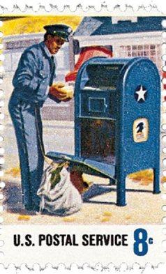 Vintage U.S. postage stamp