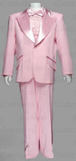 1970s pink tuxedo