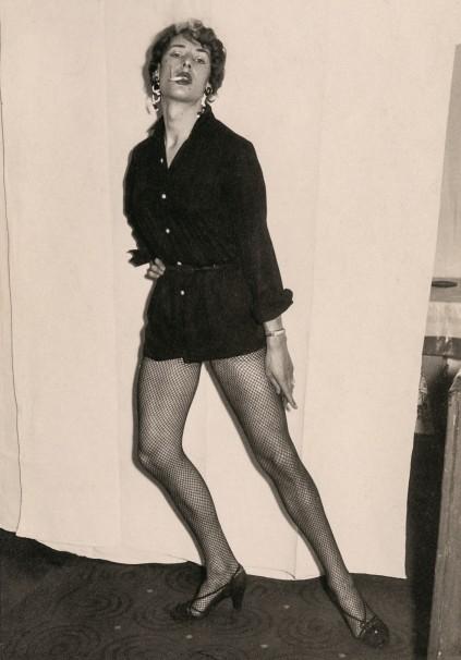 1950s male transvestite