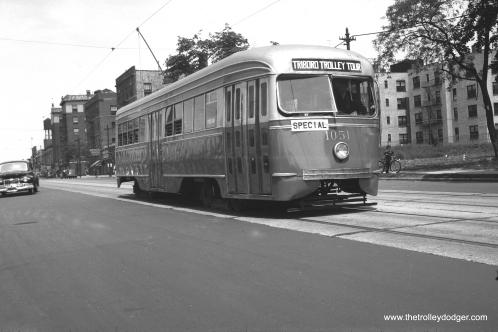 Brooklyn trolley in the 1940s