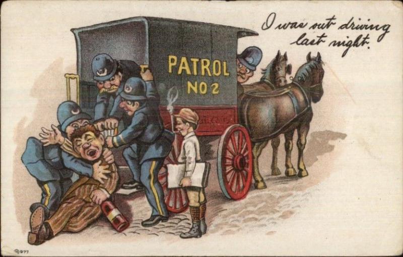 Cartoon Paddy Wagon