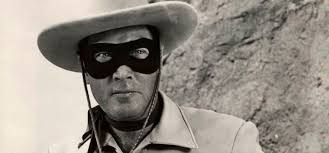 Clayton Moore as The Land Ranger.