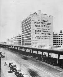 Vintage photo of Industry City in Sunset Park, Brooklyn.