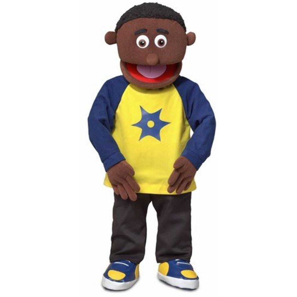 African American puppet.