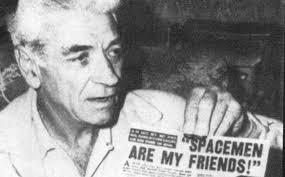 George Adamski - UFO contact and fraud.