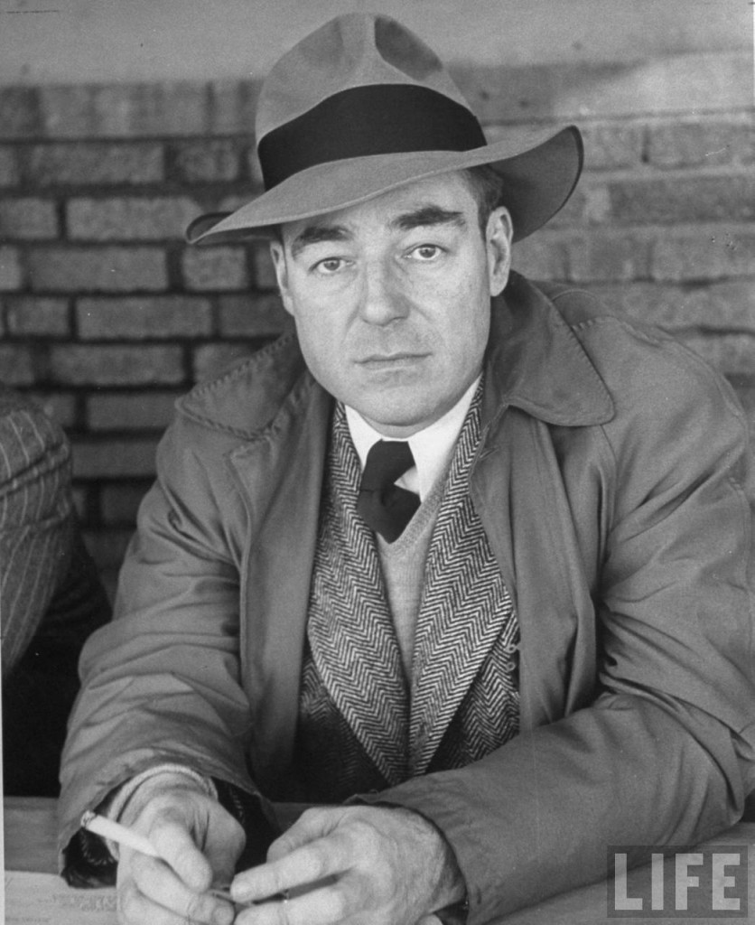 Jimmy Cannon famous New York sports writer.