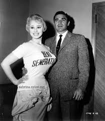 Steve Cochran and Sabrina