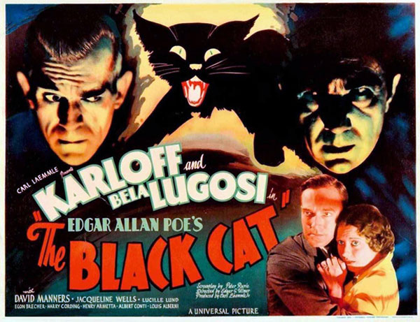 Poster of the film The Black Cat