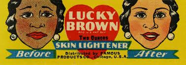 Vintage ad for skin lightener