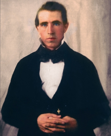 Young Joseph Smith the Mormon prophet.