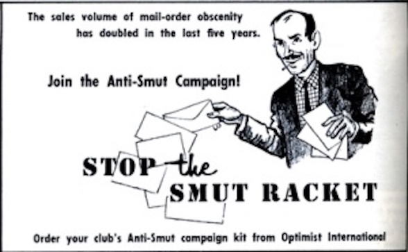 Anti-smut poster 1960s