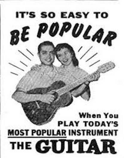 Vintage ad - It's so easy to be popular